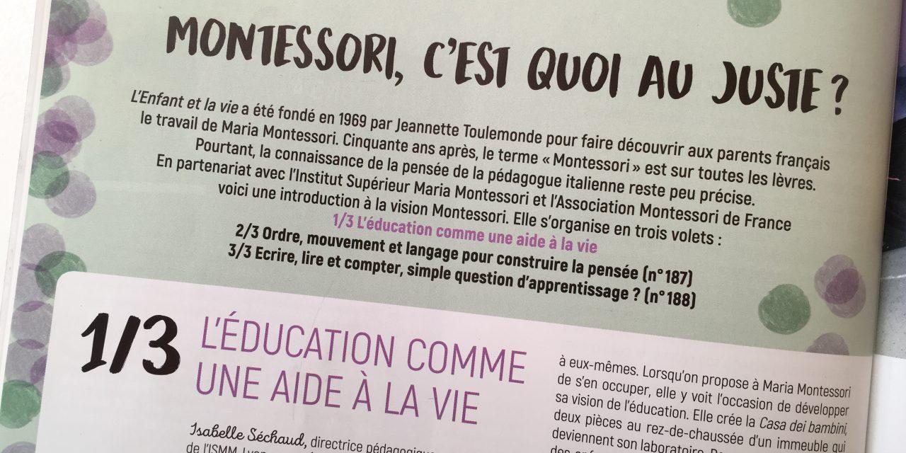 Montessori et nous : une longue histoire