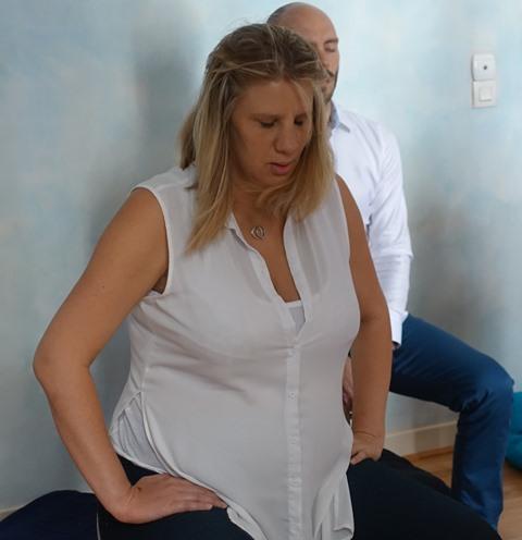 La douleur de l'accouchement