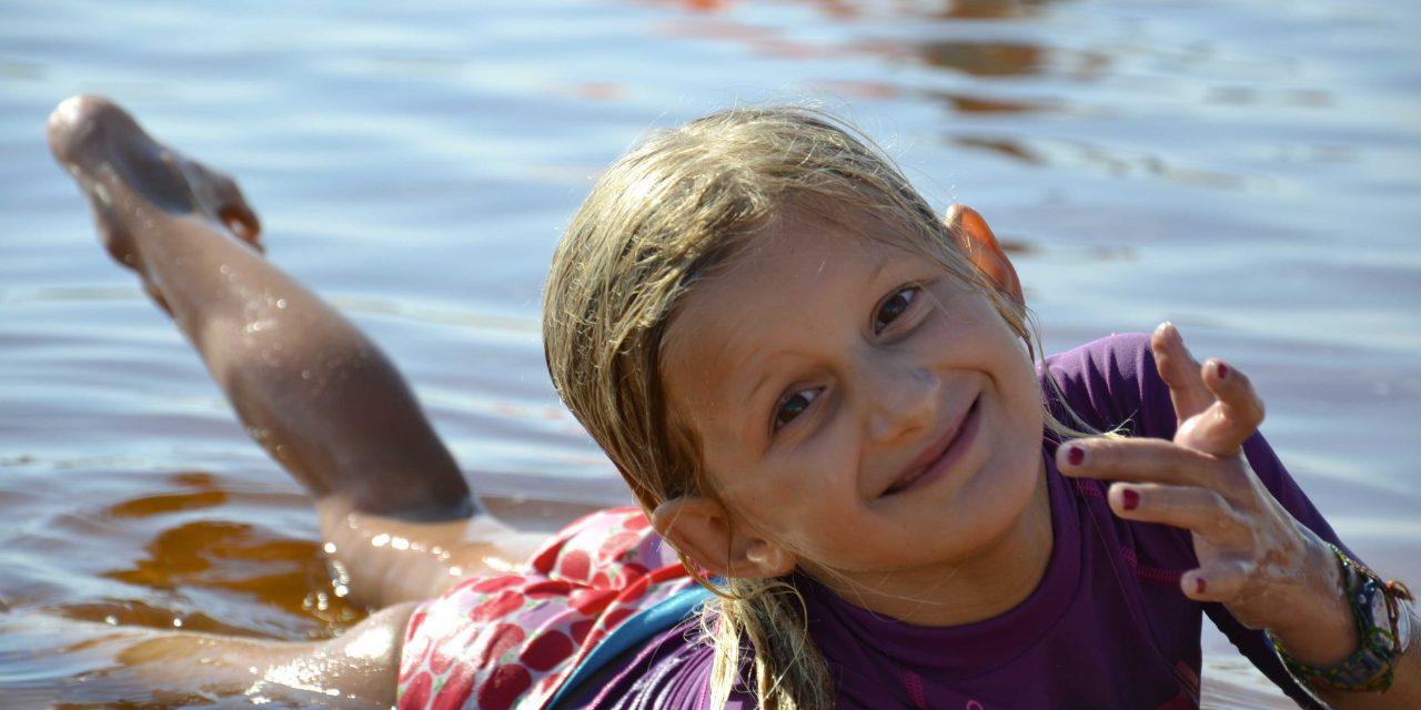 Dans l'eau: des enfants acteurs de leur propre sécurité